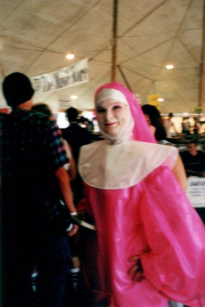 Pink nun cornerstone 2000 1