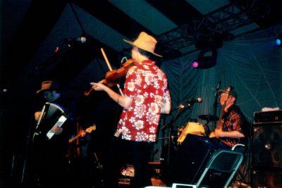 The Urban Hillbilly Quartet @ Cornerstone 2002 2