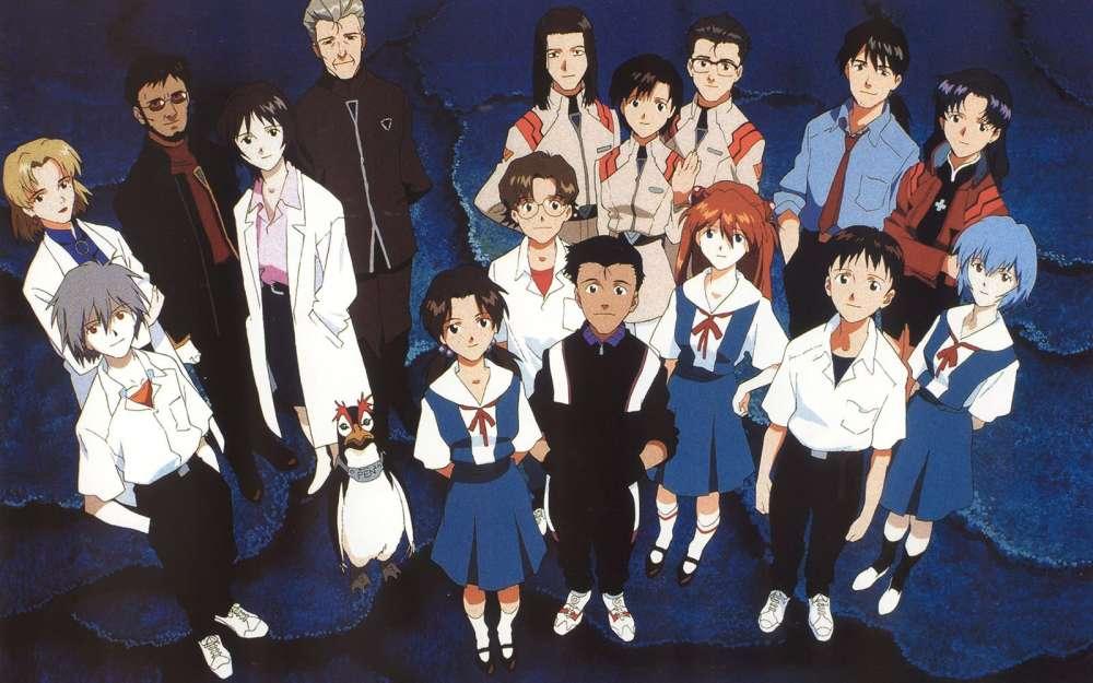 Evangelion Characters