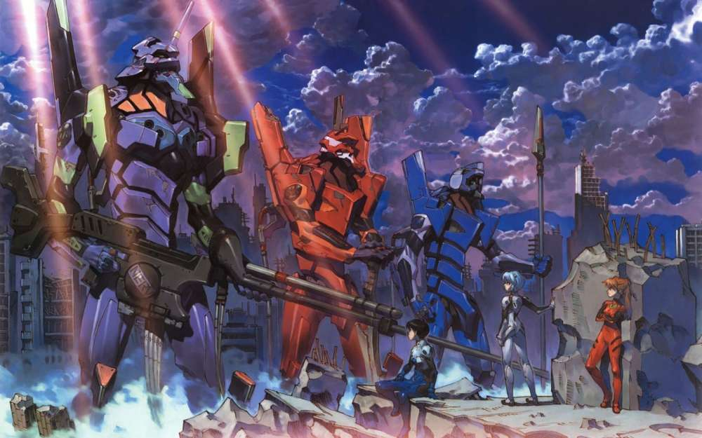 Evangelion, Locked and Loaded