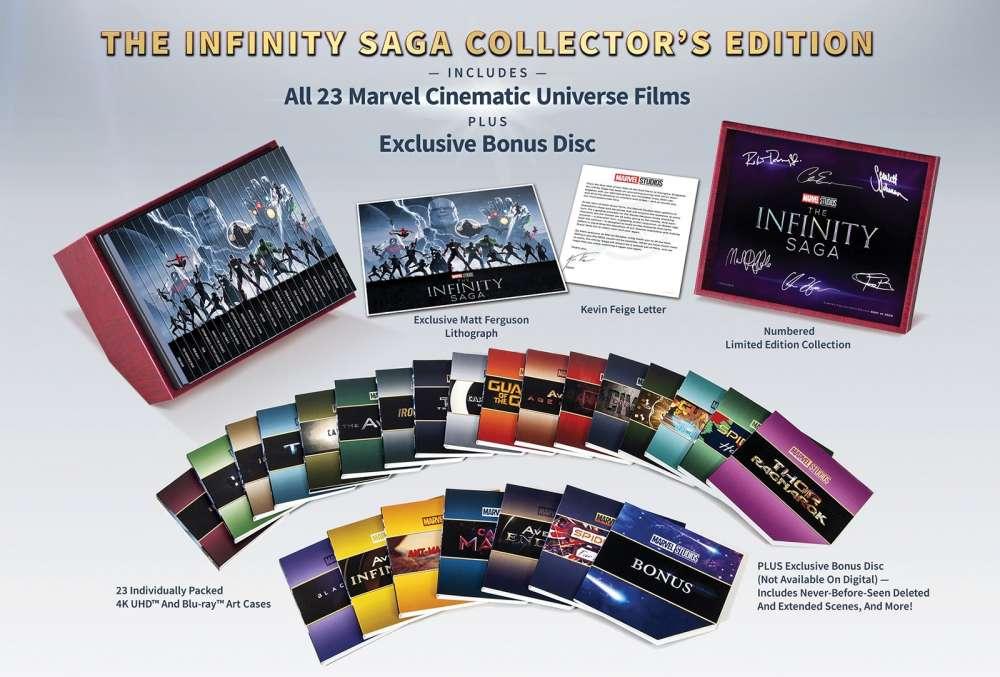 The Infinity Saga Collector's Edition
