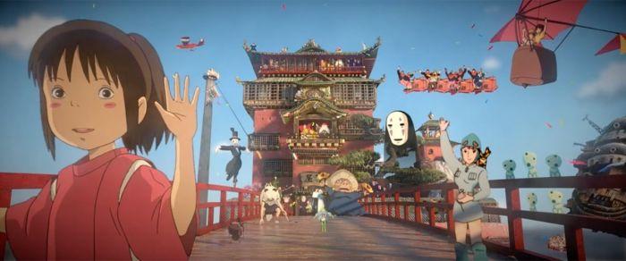 3D Miyazaki Tribute