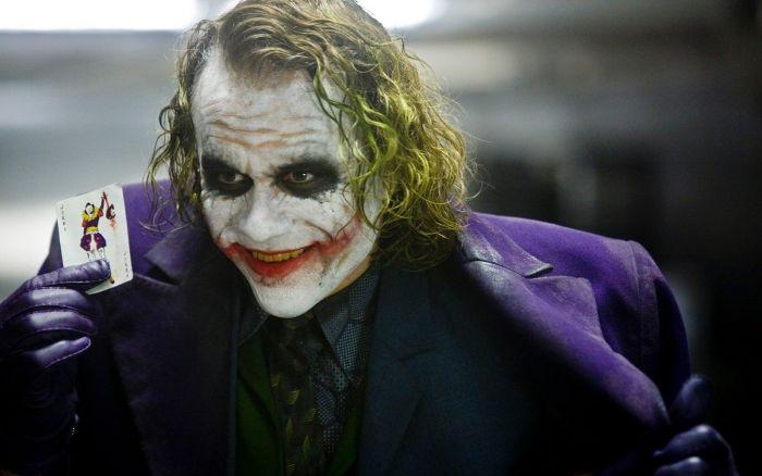 Heath Ledger's Joker in The Dark Knight