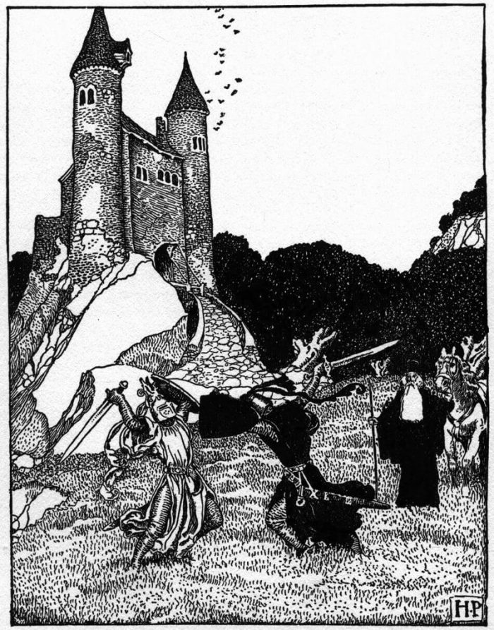 Howard Pyle Sable Knight