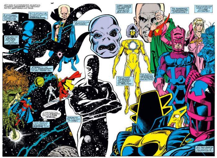 Marvel's Cosmic Beings