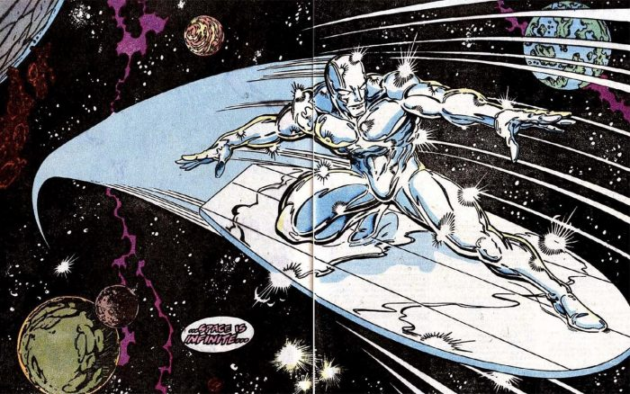The Silver Surfer by Ron Lim