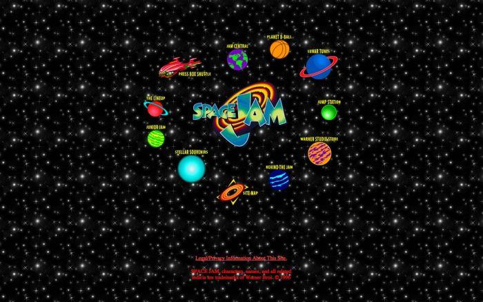 Space Jam Website