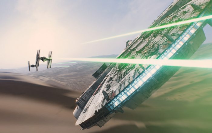 Star Wars The Force Awakens, The Millennium Falcon
