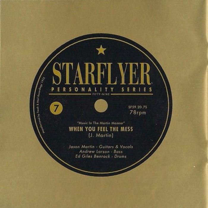 When You Feel the Mess - Starflyer 59