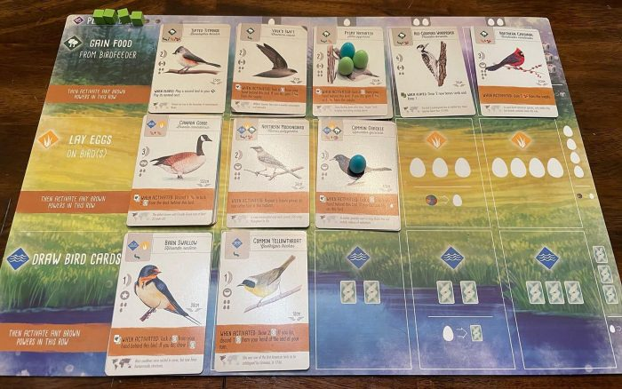 Wingspan Tabletop Game: My Preserve