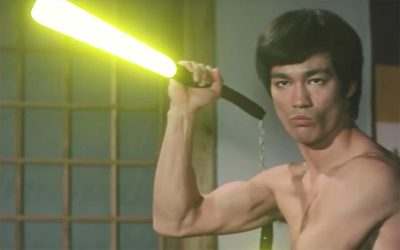 Random Nerdery: Bruce Lee's Lightsaber, a 16-bit Last Jedi, Reviews of Black Science & The Bone Clocks