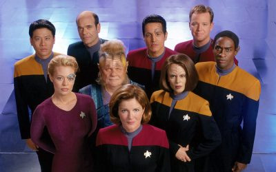 "Celebrating the ""anti-action, existential feminist family drama"" of Star Trek: Voyager"