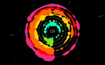 """An Awesome HTML5/CSS3 Visualization of the """"Definitive Daft Punk"""" Mash-up"""