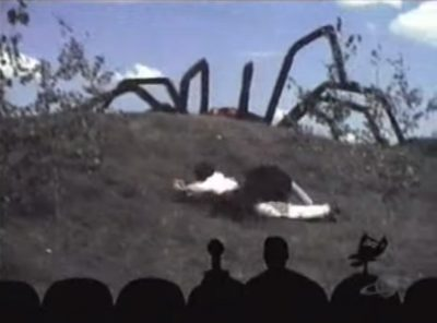 I, For One, Welcome Our New Giant Spider Overlords