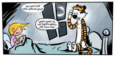 Calvin & Hobbes Return (sort of) In Hobbes and Bacon