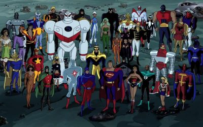 Reading: Justice League, Rdio's Death, DC Talk, Refugees & Compassion, Killing Baby Hitler & more