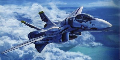 Awesome Macross Artwork From Tenjin Hidetaka