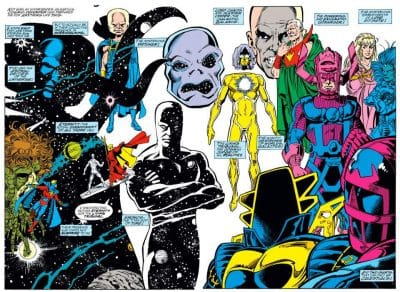 An Overview of Marvel's Cosmic Hierarchy