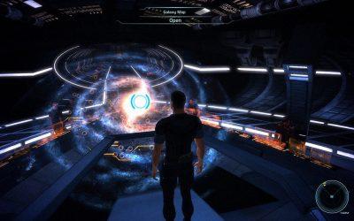 Mass Effect 1 - Galaxy Map
