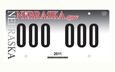 Here's Your New License Plate Design, Nebraska; Don't Let the Other States See You Cry