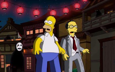 The Simpsons and Hayao Miyazaki, Together at Last