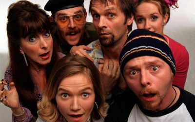 Fanboys and Pop Culture Geeks Rejoice: Spaced Is Coming to R1 DVD!