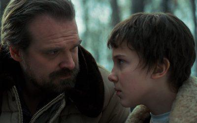 Stranger Things: Hopper & Eleven
