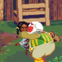 Who knew you could make a video game about a twerking, hug-loving clown?