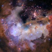 Flying Through a Nebula