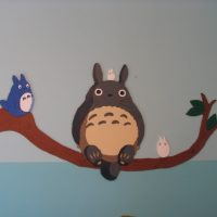 Simon's Nursery or, Hanging Out with Totoro