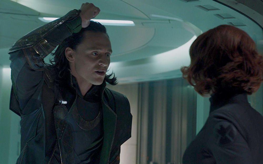 Avengers, Black Widow & Loki