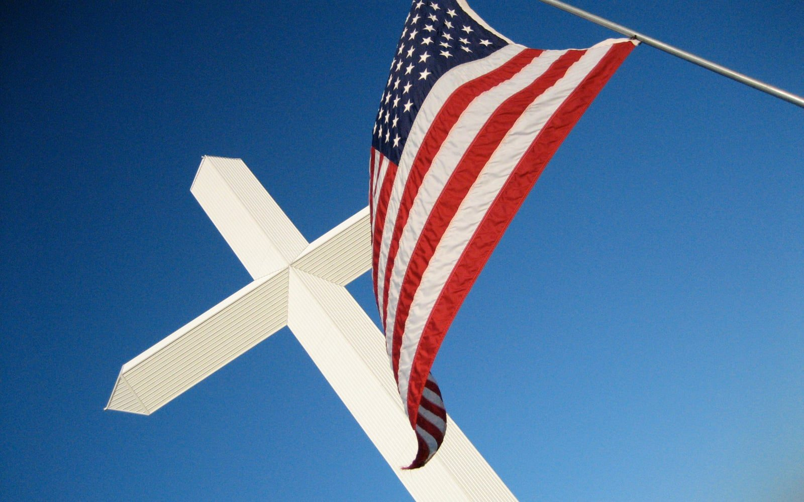 The Cross and the Flag