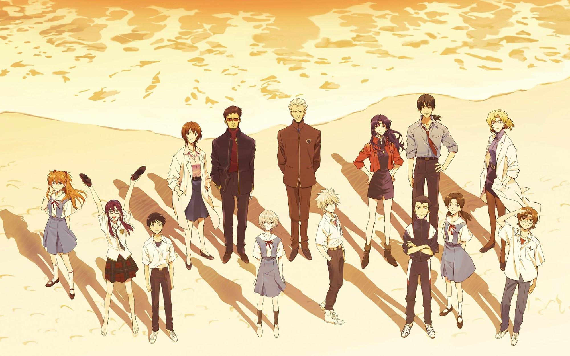 Evangelion: 3.0+1.0 Characters