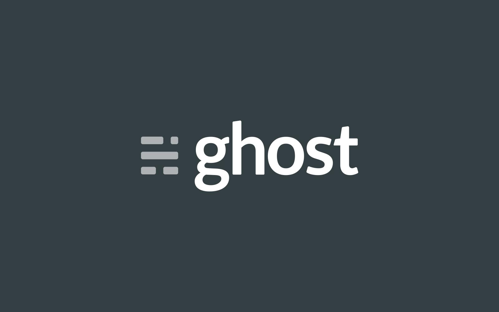 Ghost CMS Logo