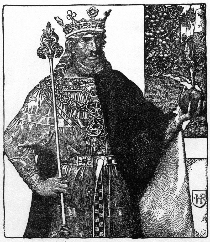 Howard Pyle King Arthur