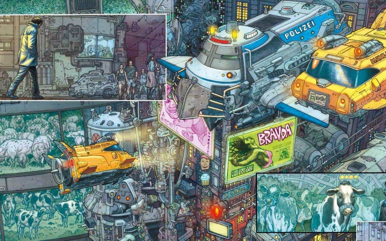 Mute Comic Book - Duncan Jones