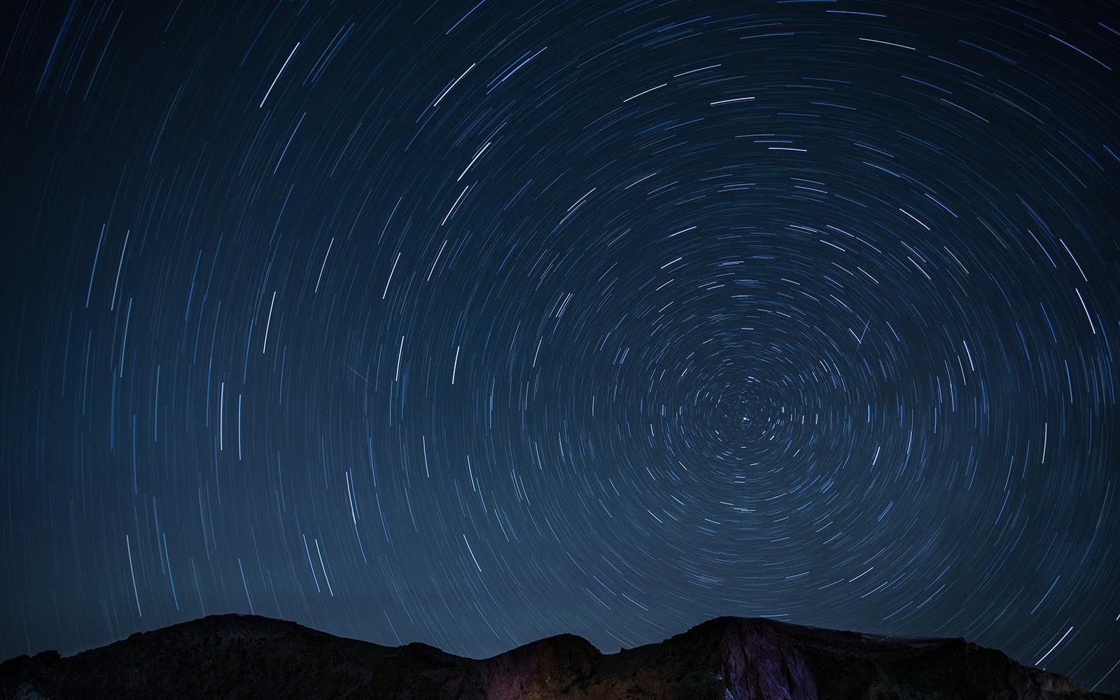 Timelapse Night Sky