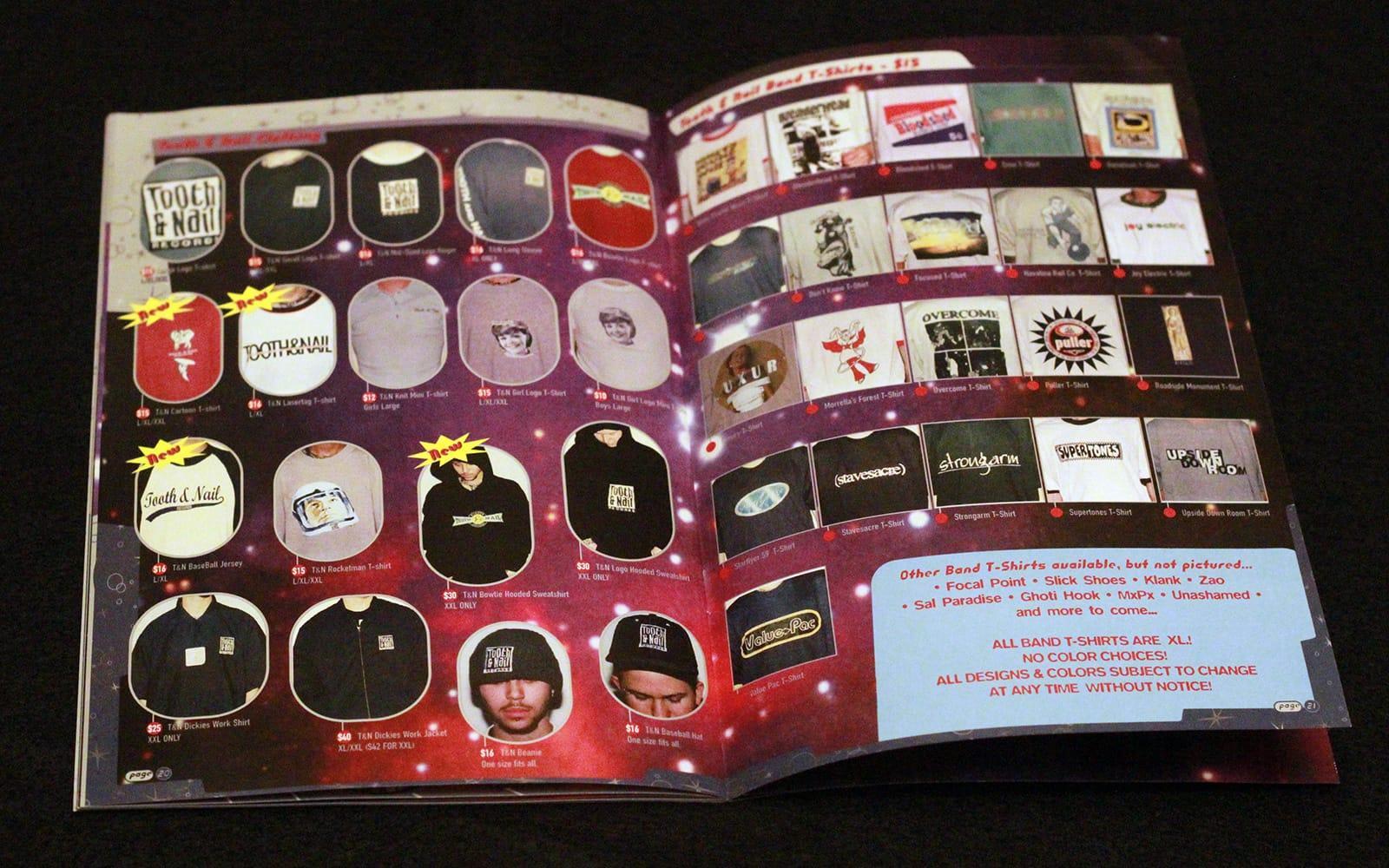 Tooth & Nail Catalog 08