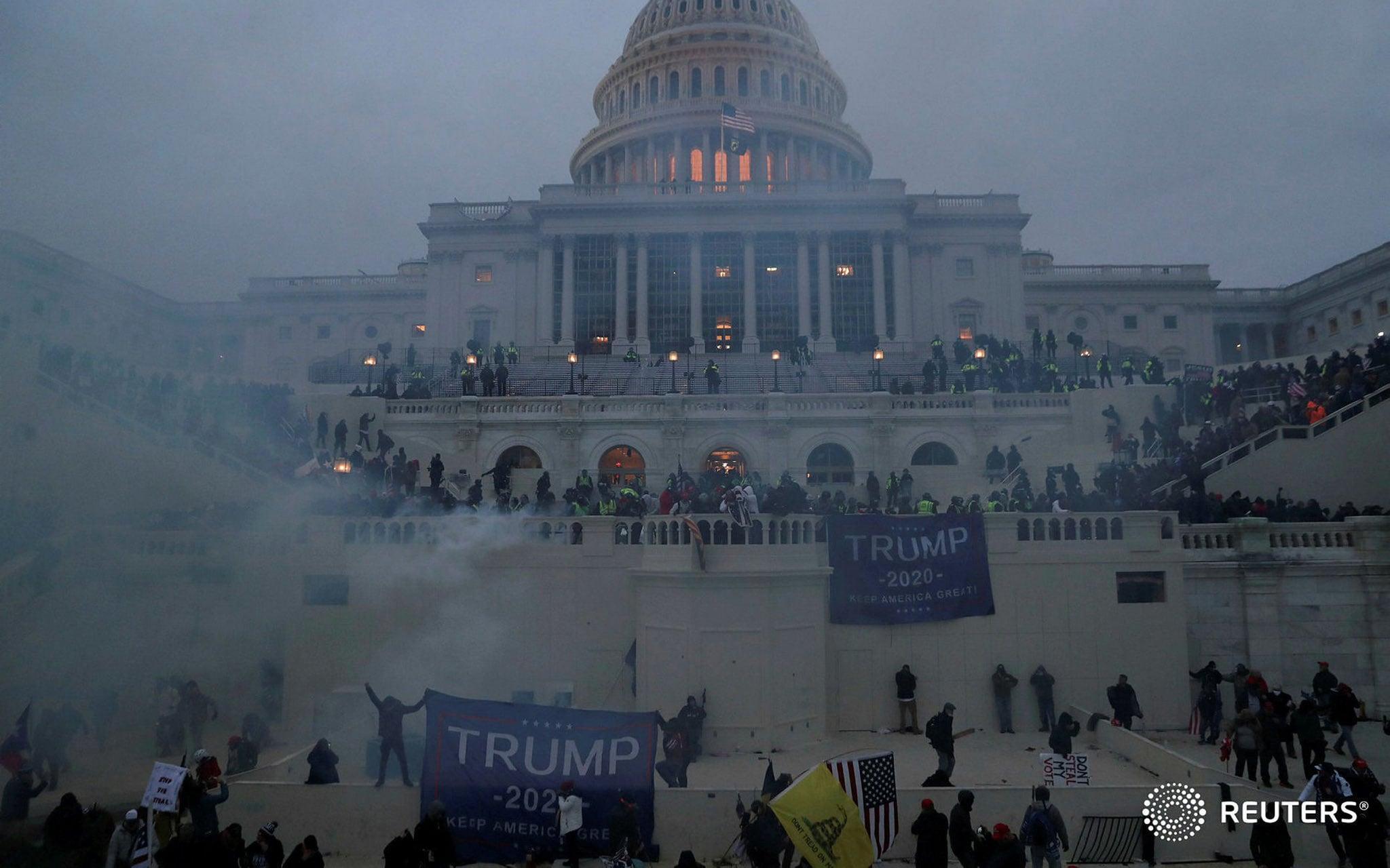 US Capitol, Trump's Chaos