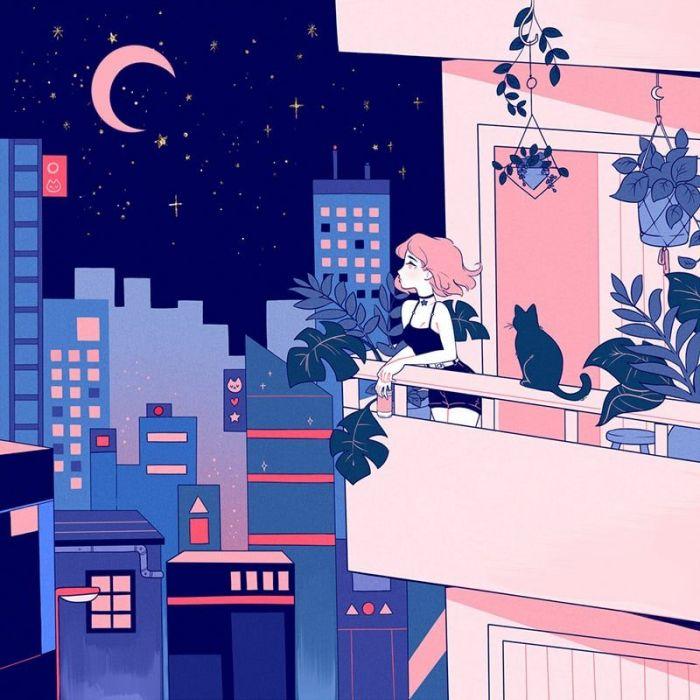 Neon Impasse - City Girl