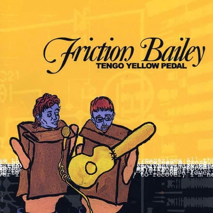 Tengo Yellow Pedal - Friction Bailey