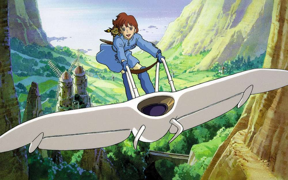 Nausicaä of the Valley of the Wind - Hayao Miyazaki